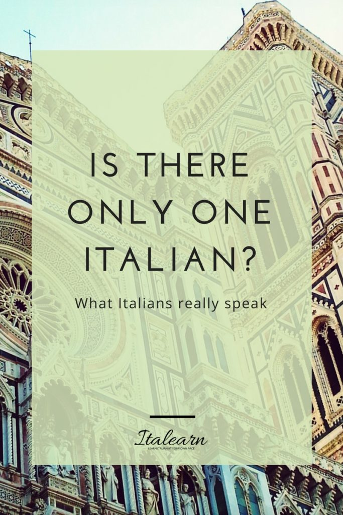 Is there only one Italian-