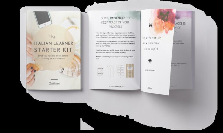 the italian learner starter kit-italearn.com