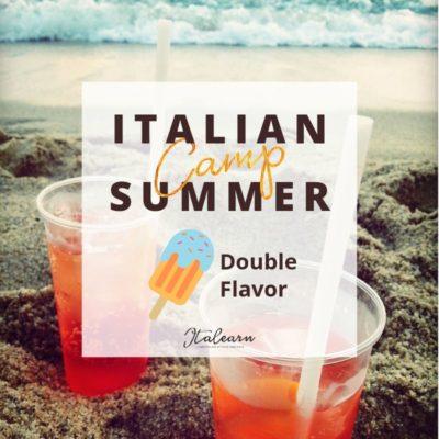 Italian Summer Camp - double flavor - italearn.com