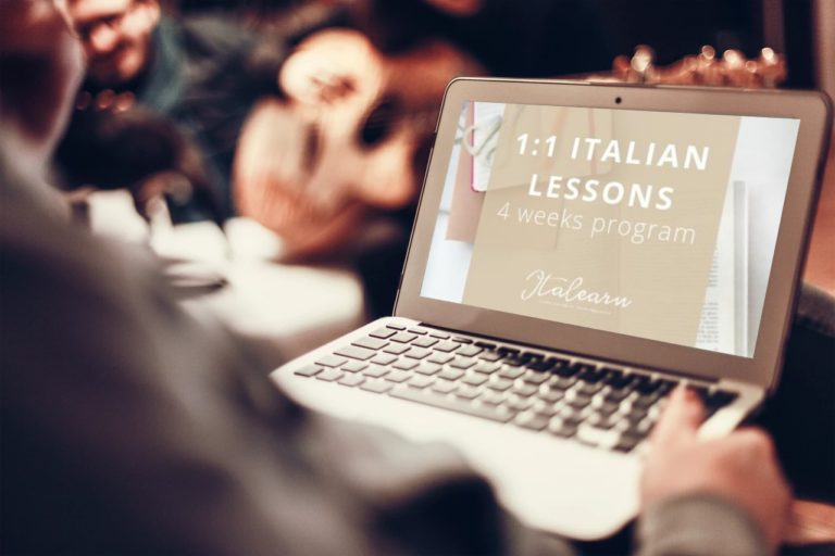 1:1 Italian Lessons 4 weeks program - Private Italian classes - italearn.com