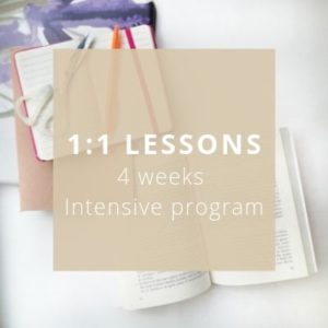 1_1 Italian Lessons 4 weeks intensive program - Private Italian classes - italearn.com