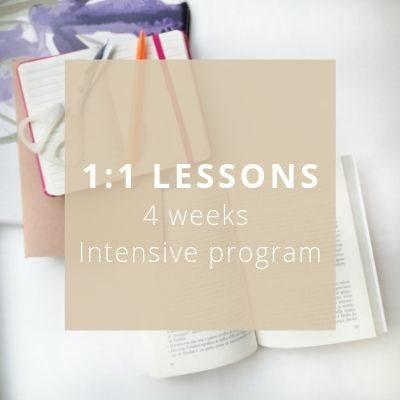 1_1 Italian Lessons 4 weeks intensive program - Private Italian classes - italearn.com