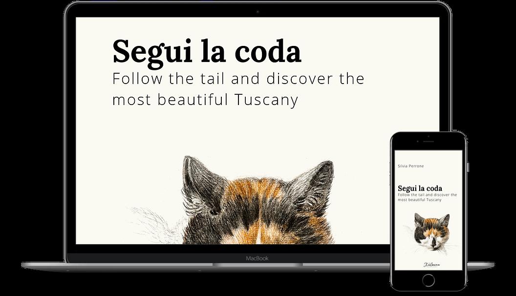 segui la coda- story+lesson - italearn.com - screen mockup