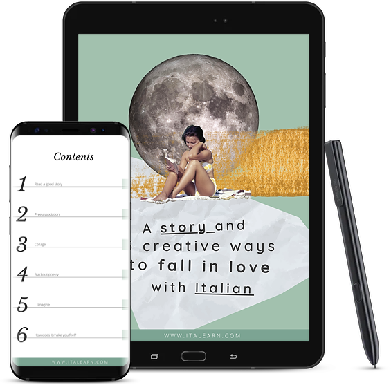 creative italian - learn with stories - italearn.com - silvia perrone