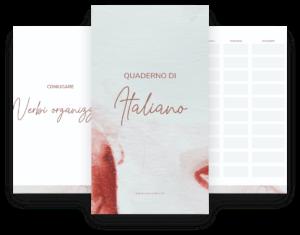 quaderno di italiano by italearn.com printables