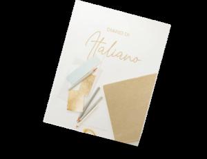 Diario di italiano - Gold foil, by italearn.com